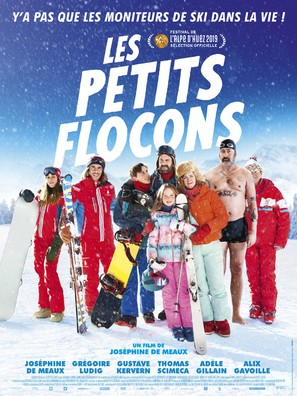 Les petits flocons - French Movie Poster (thumbnail)