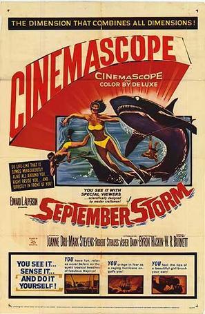 September Storm - Movie Poster (thumbnail)