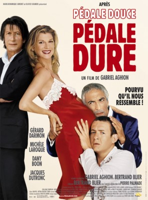 Pédale dure - French Movie Poster (thumbnail)