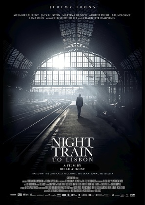 Night Train to Lisbon - Portuguese Movie Poster (thumbnail)