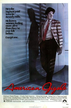 American Gigolo - Theatrical poster (thumbnail)
