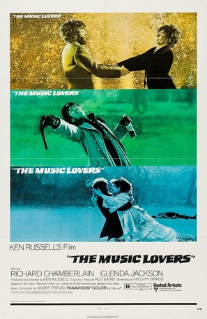 The Music Lovers - Movie Poster (thumbnail)