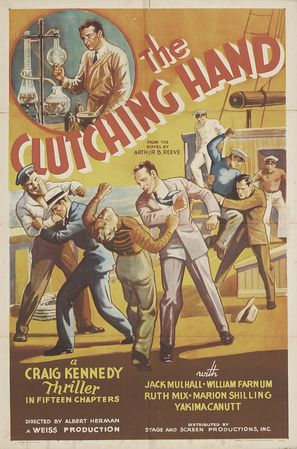 The Amazing Exploits of the Clutching Hand - Movie Poster (thumbnail)