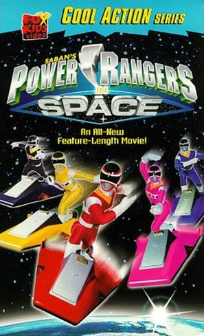 """""""Power Rangers in Space"""" - VHS movie cover (thumbnail)"""