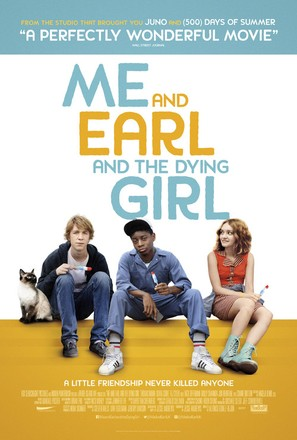 Me and Earl and the Dying Girl - British Movie Poster (thumbnail)