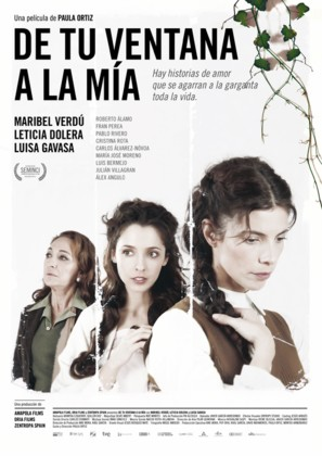 De tu ventana a la mía - Spanish Movie Poster (thumbnail)
