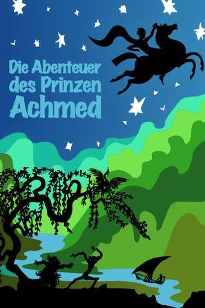 Abenteuer des Prinzen Achmed, Die - German Movie Poster (thumbnail)