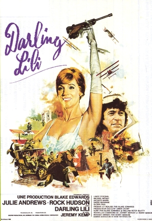 Darling Lili - French Movie Poster (thumbnail)