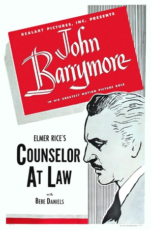 Counsellor at Law - Movie Poster (thumbnail)
