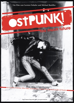 OstPunk! Too much Future - German Movie Poster (thumbnail)