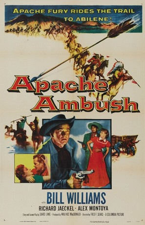 Apache Ambush - Movie Poster (thumbnail)