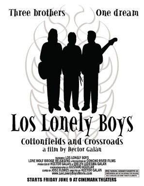 Los Lonely Boys: Cottonfields and Crossroads - Movie Poster (thumbnail)