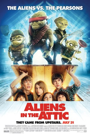 Aliens in the Attic - Movie Poster (thumbnail)
