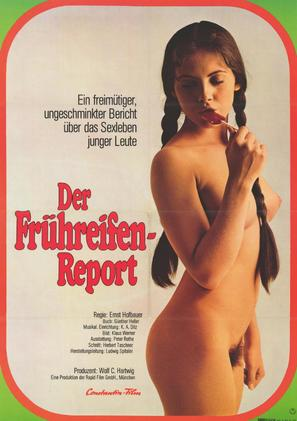 Frühreifen-Report - German Movie Poster (thumbnail)