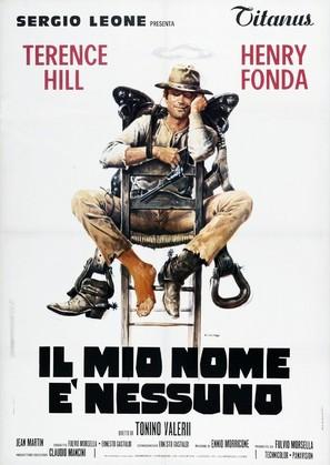 Il Mio Nome E Nessuno - Italian Theatrical poster (thumbnail)