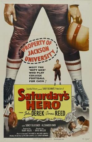 Saturday's Hero - Movie Poster (thumbnail)