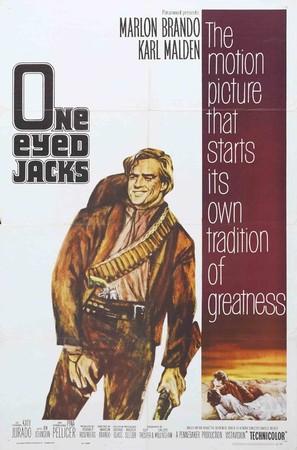 One-Eyed Jacks - Movie Poster (thumbnail)