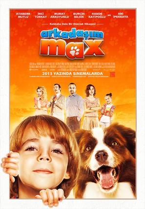 Arkadasim Max - Turkish Movie Poster (thumbnail)