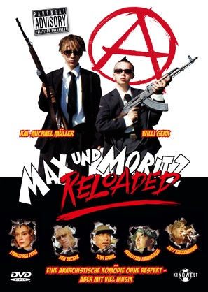 Max und Moritz Reloaded - German DVD cover (thumbnail)