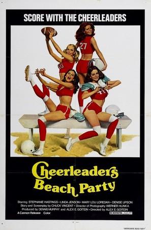 Cheerleaders' Beach Party - Movie Poster (thumbnail)