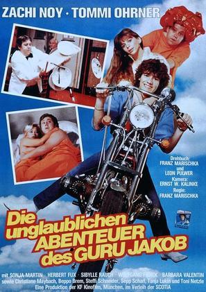 Die unglaublichen Abenteuer des Guru Jakob - German Movie Poster (thumbnail)