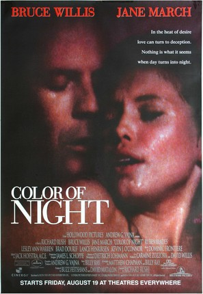 Color of Night - Advance movie poster (thumbnail)