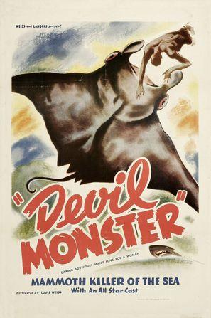 Devil Monster - Movie Poster (thumbnail)