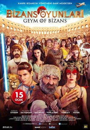 Bizans Oyunlari - Turkish Movie Poster (thumbnail)
