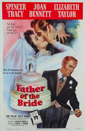 Father of the Bride - Movie Poster (thumbnail)