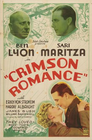 Crimson Romance - Movie Poster (thumbnail)