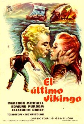 Ultimo dei Vikinghi, L' - Spanish Movie Poster (thumbnail)