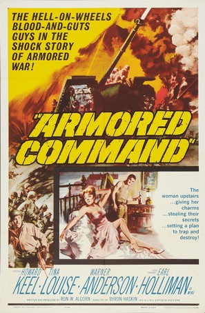 Armored Command - Movie Poster (thumbnail)