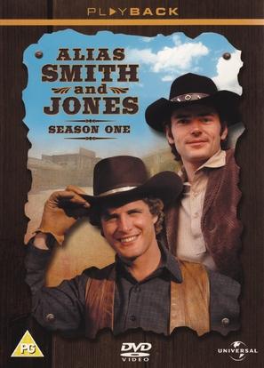 """Alias Smith and Jones"" - British DVD movie cover (thumbnail)"