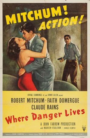 Where Danger Lives - Movie Poster (thumbnail)