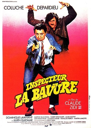 Inspecteur la Bavure - French Movie Poster (thumbnail)