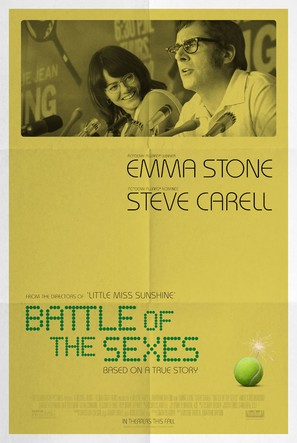 Battle of the Sexes - Movie Poster (thumbnail)