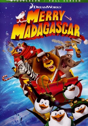 Merry Madagascar - DVD movie cover (thumbnail)