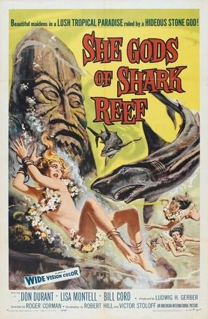 She Gods of Shark Reef - Movie Poster (thumbnail)