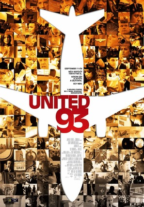 United 93 - Hungarian Movie Poster (thumbnail)