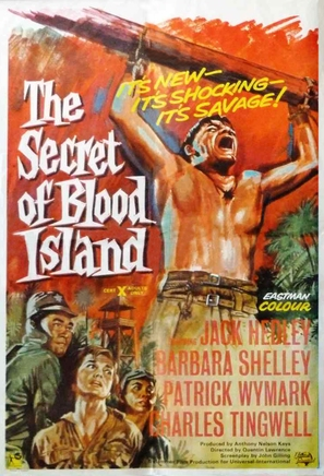 The Secret of Blood Island - British Movie Poster (thumbnail)