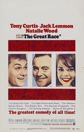 The Great Race - Movie Poster (thumbnail)