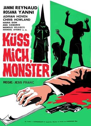 Küß mich, Monster - Austrian Movie Poster (thumbnail)