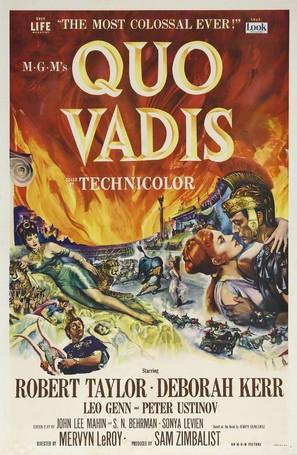 Quo Vadis - Theatrical movie poster (thumbnail)