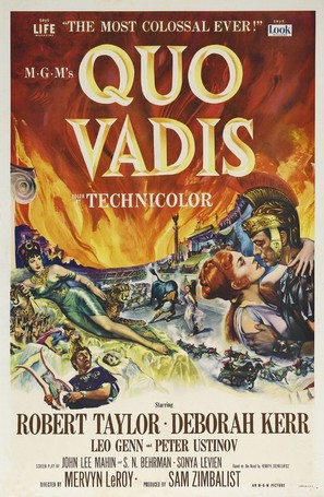 Quo Vadis - Theatrical poster (thumbnail)