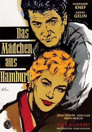 Fille de Hambourg, La - German Movie Poster (thumbnail)