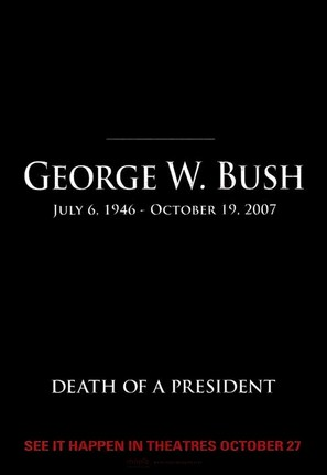 Death of a President - poster (thumbnail)