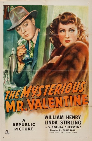 The Mysterious Mr. Valentine - Movie Poster (thumbnail)