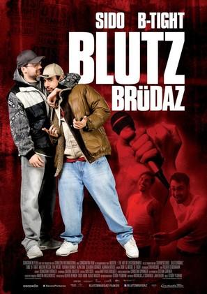 Blutzbrüdaz - German Movie Poster (thumbnail)