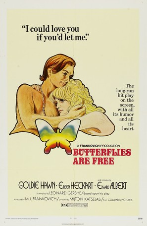 Butterflies Are Free - Movie Poster (thumbnail)