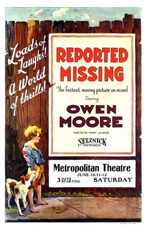 Reported Missing - Movie Poster (thumbnail)